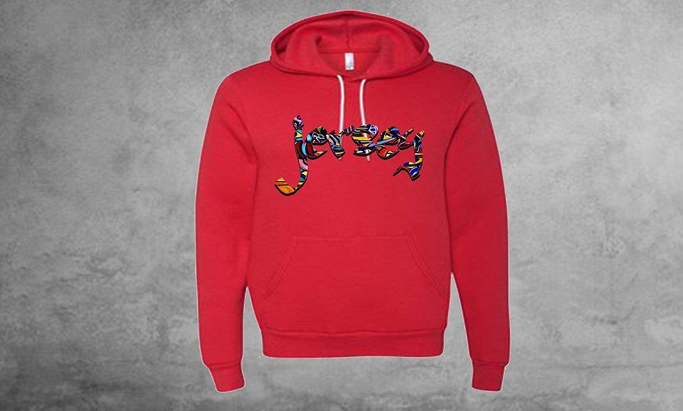 Jersey Color Splash Hoodie