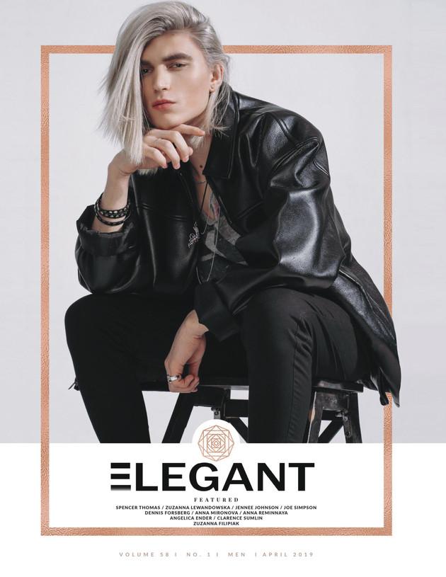 REBELEOUS SPIRIT for Elegant magazine, Apr 2019