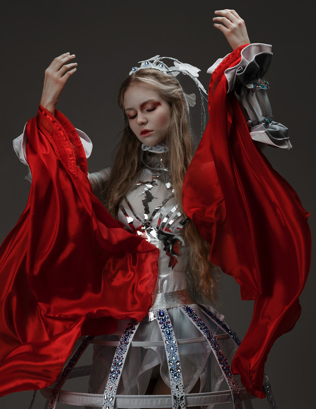 Innocent Suicide for costume designer Embodying Desires, Dec 2018