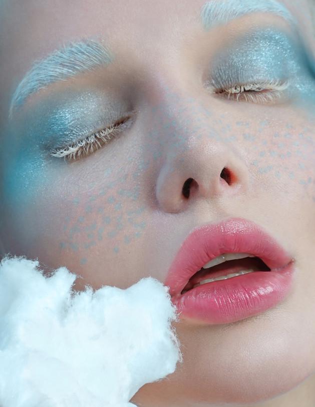 BLUE MERINGUE for Shuba magazine, Nov 2018