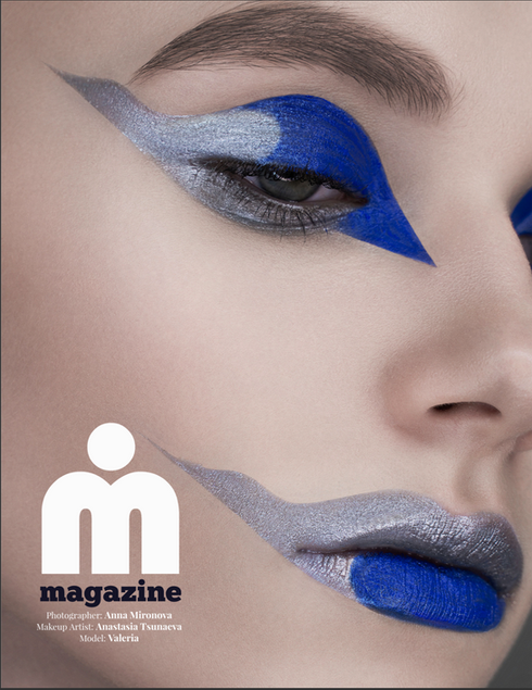 ELECTRIC BLUE coverstory for iMirage magazine, Jan 2019