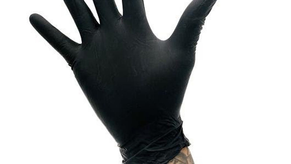 CARBONITE POWDER FREE BLACK NITRILE (Case)