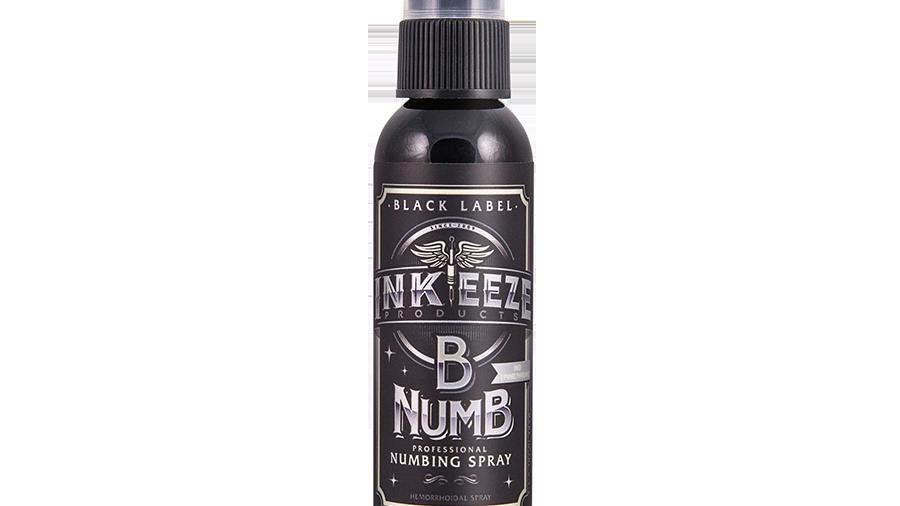 B NUMB During Numbing Spray 2 oz. (BLACK LABEL)