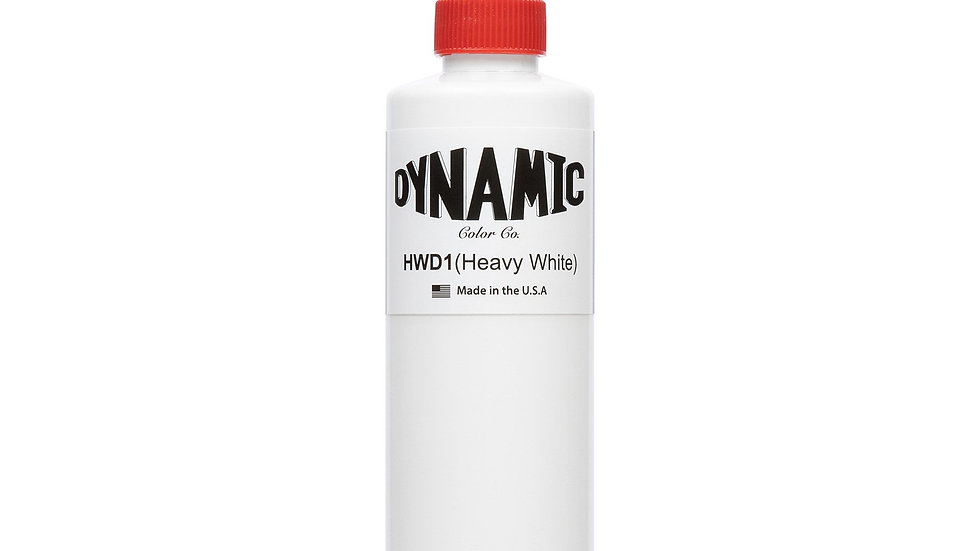 Dynamic HEAVY WHITE 8oz