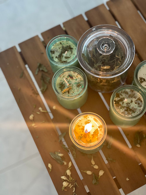 Mint-Jasmine Limited Edition Money Candles