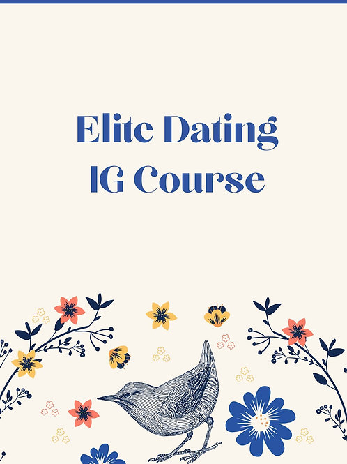 Elite Dating IG Course