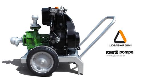 Ferbo Lomardini Diesel Pump Unit LR13-20FL