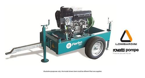 Ferbo Lomardini Diesel Pump Unit LR35W-10FL