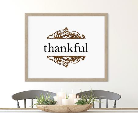 Thankful Printabel Art