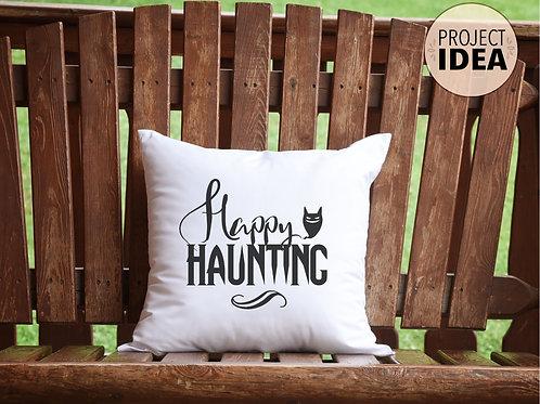 halloween pillow project idea for cricut