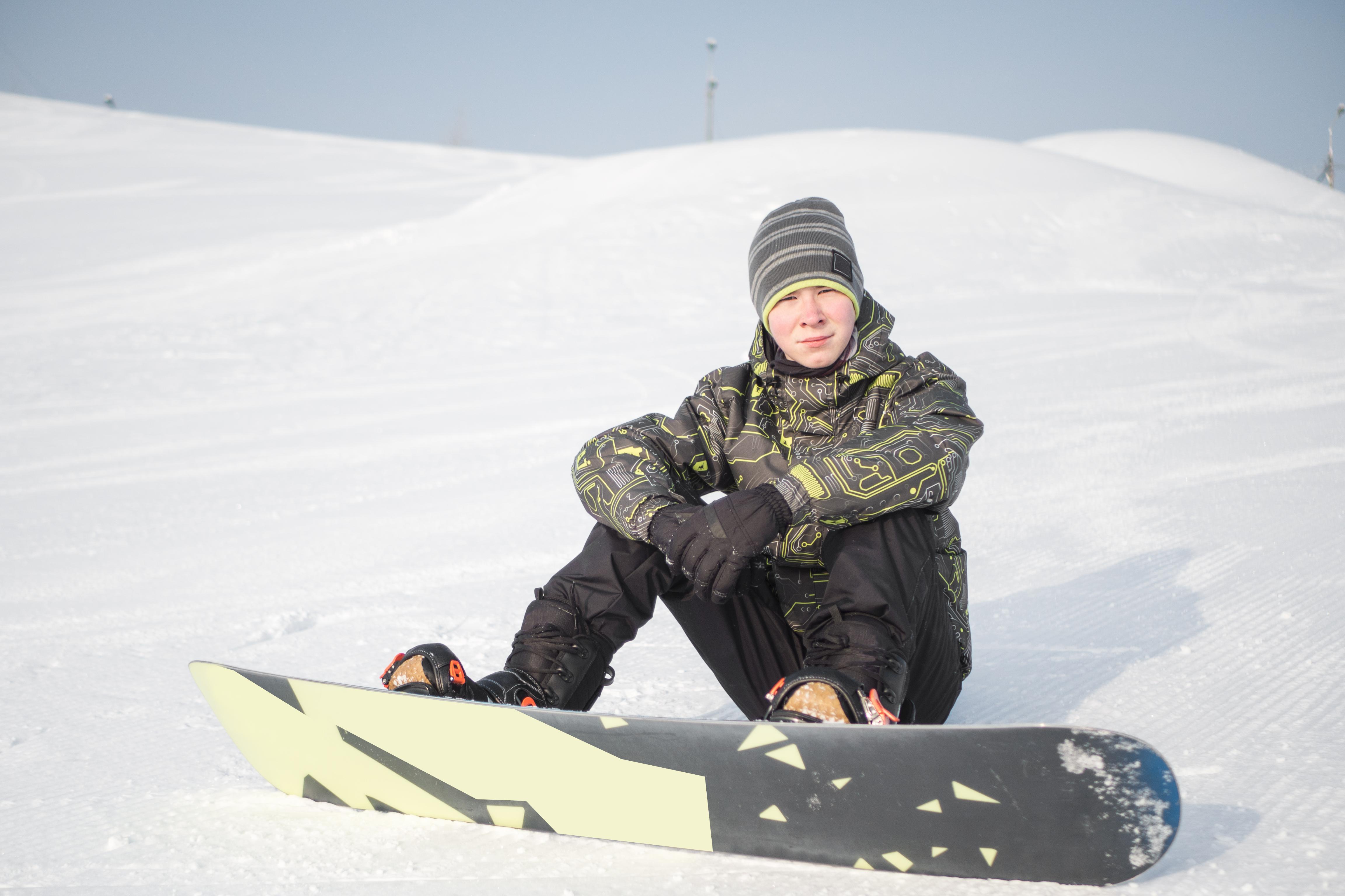 Портрет на горнолыжном склоне