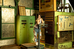 Девочка фабричная