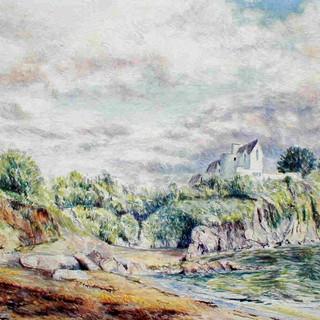 Near Bodrugan's Leap, Colonna Bay, Cornw