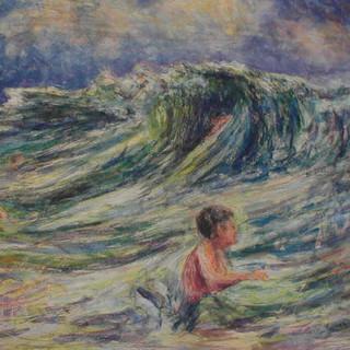 The Wave. Sennen Cove