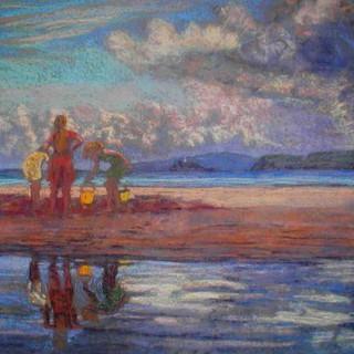 Children on Porthminster Beach