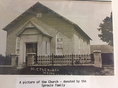 ​Picture of the original Westbrook United Church
