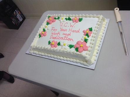 UCW Cake