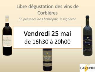 Libre dégustation des Grands Vins des Corbières