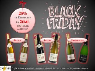 Black Friday - Vendredi 24 Novembre