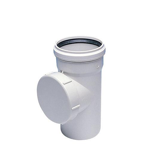 PVC Temizleme Yuvarlak Kapaklı