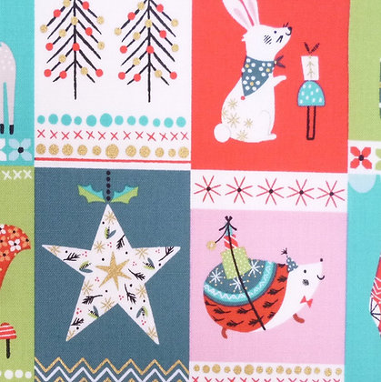 Fabric :: Forest Friends :: Picture Blocks