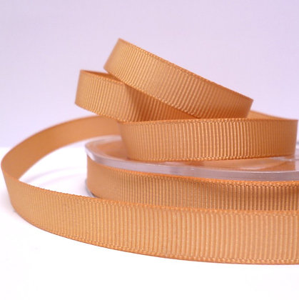 10mm grosgrain :: by the metre :: Gold