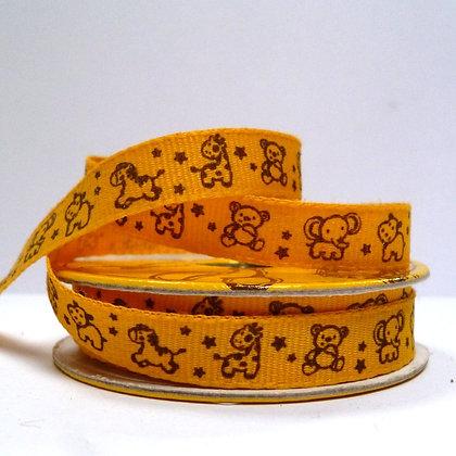 SALE :: Yellow Spools :: Yellow nursery animals