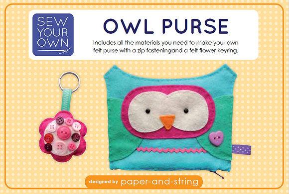 Owl Purse Medium Kit