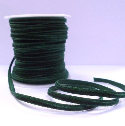 5mm velvet ribbon spool :: Forest