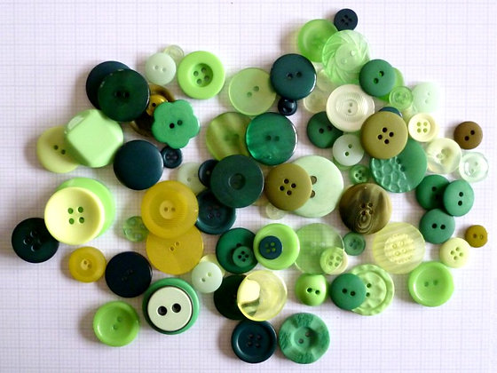 Buttons By Weight :: Green
