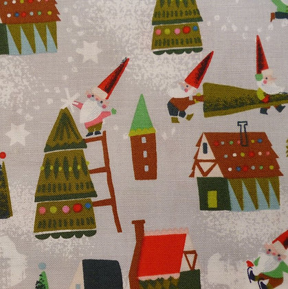 Fabric :: Way Up North :: Elf Houses :: Grey