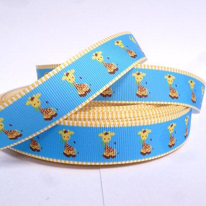 Cute Grosgrain Ribbon :: Giraffes