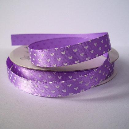 5yd Spools :: Lilac Hearts