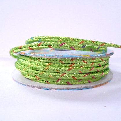 Bright Spools :: Patterned Cord :: Lime