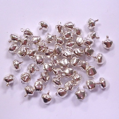 Pack of 8mm bells :: Silver x50