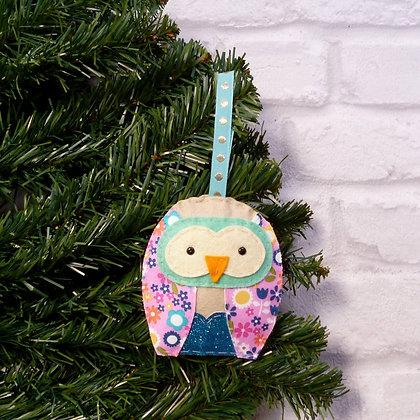 Original Owl :: Bright Christmas :: made to order