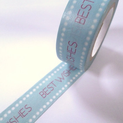 Washi Tape roll :: Best Wishes
