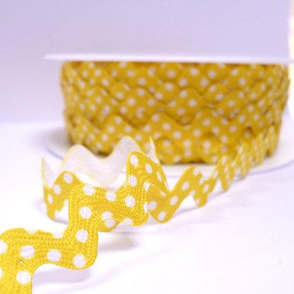 Polka Dot Ric Rac :: Yellow