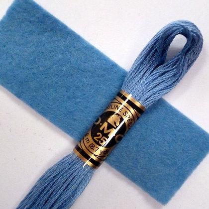 DMC Embroidery Thread :: Cornflower (799)
