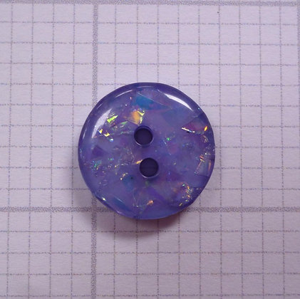 Diamond Glitter Button :: Lilac