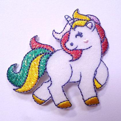 Embroidered Motif :: Shaped Unicorn