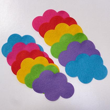 Die Cut Pack :: Clouds :: Circus Brights