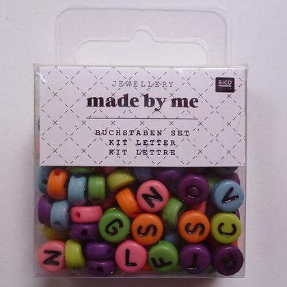 Alphabet Beads :: Bright Round