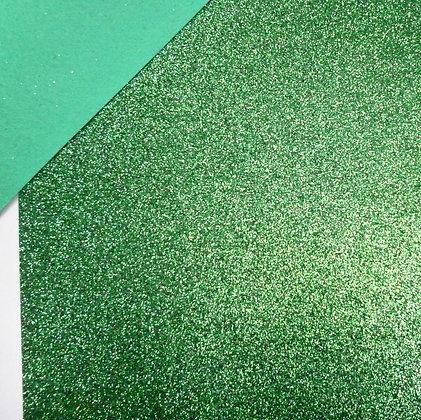 Glitter Felt :: Green