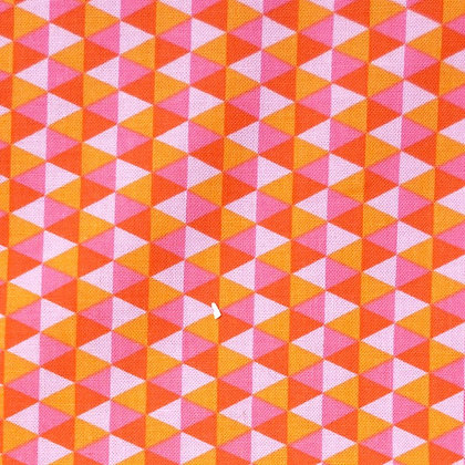 Fabric :: Polygon  :: Watermelon