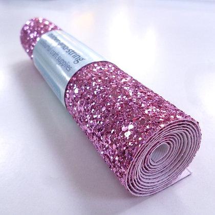 Chunky Glitter mini roll :: Pink