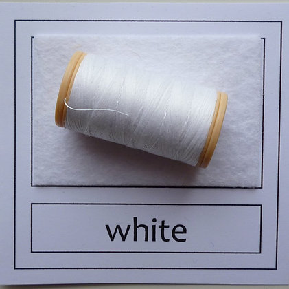 Sewing Thread :: White