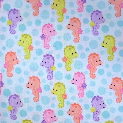 Fabric :: Under The Sea :: Seahorses