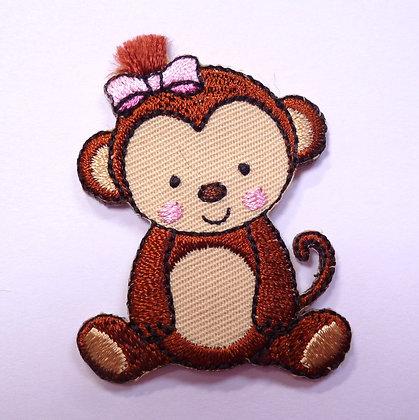 Embroidered Motif :: Safari :: Monkey