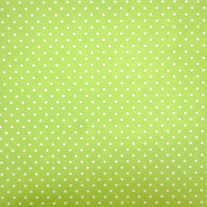 Bigger Polka Dots Felt Square :: BRIGHT GREEN